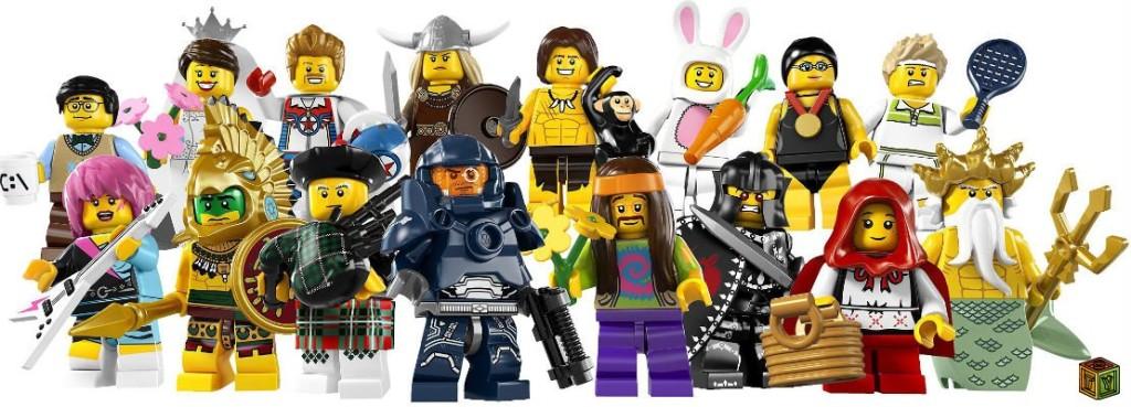 Lego фигуры