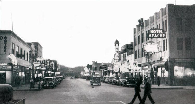 Фримонт стрит 1934