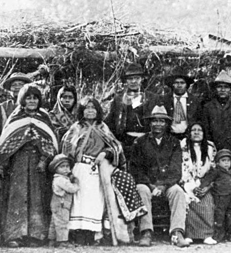 индейцы племени пайюты