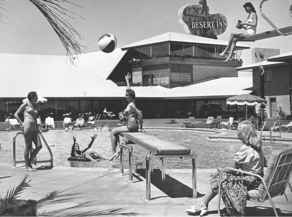 Лас Вегас Desert Inn.