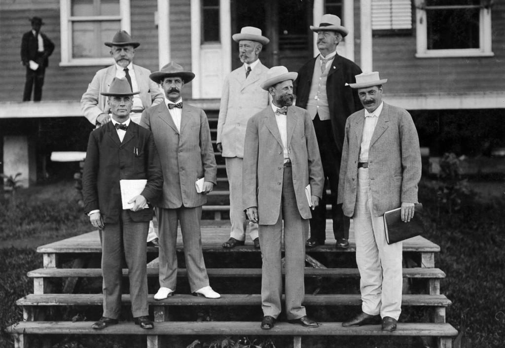 DES INGENIEURS AMERICAINS DU CANAL DE PANAMA 1908