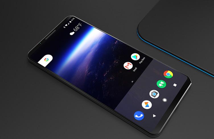 Концепт смартфона Google Pixel 2