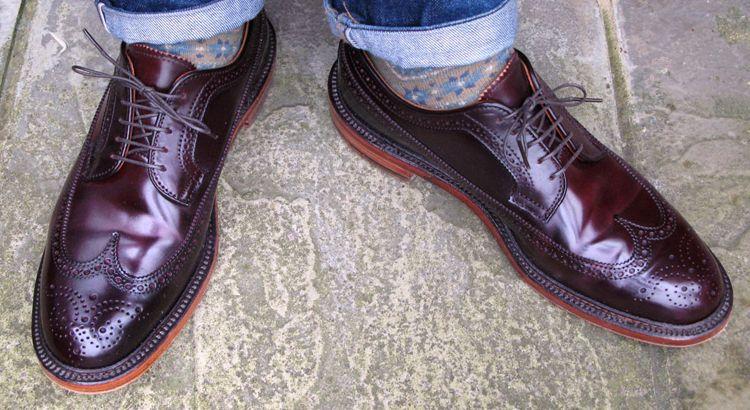 Заломы и изгибы на обуви