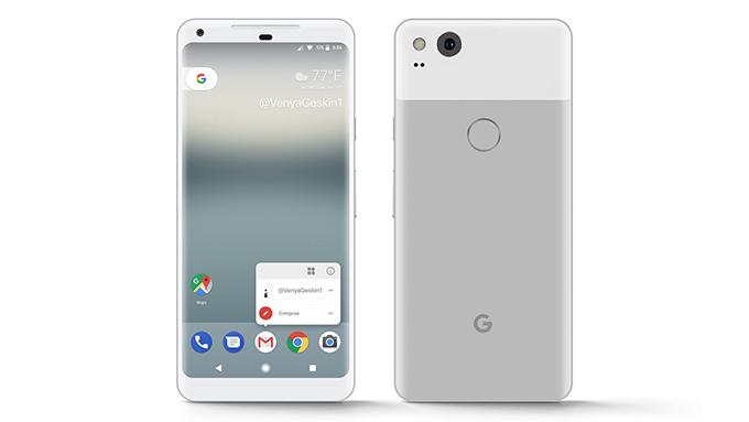 Концепт смартфона Google Pixel 2 XL