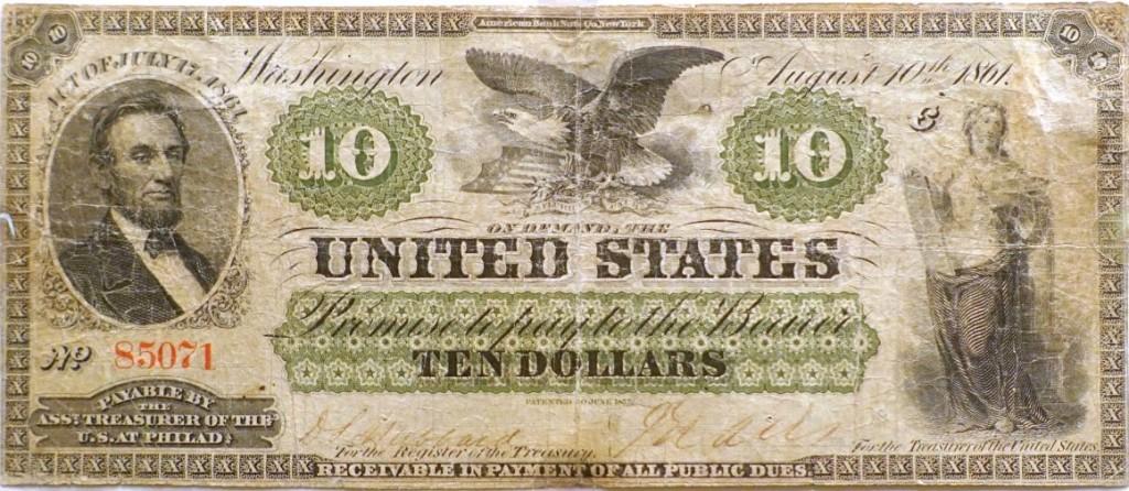 История американской валюты