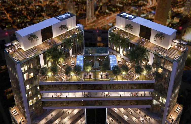 небоскребы Майами