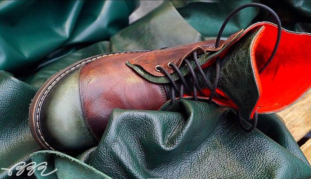 Исходный материал для туфель - кожа