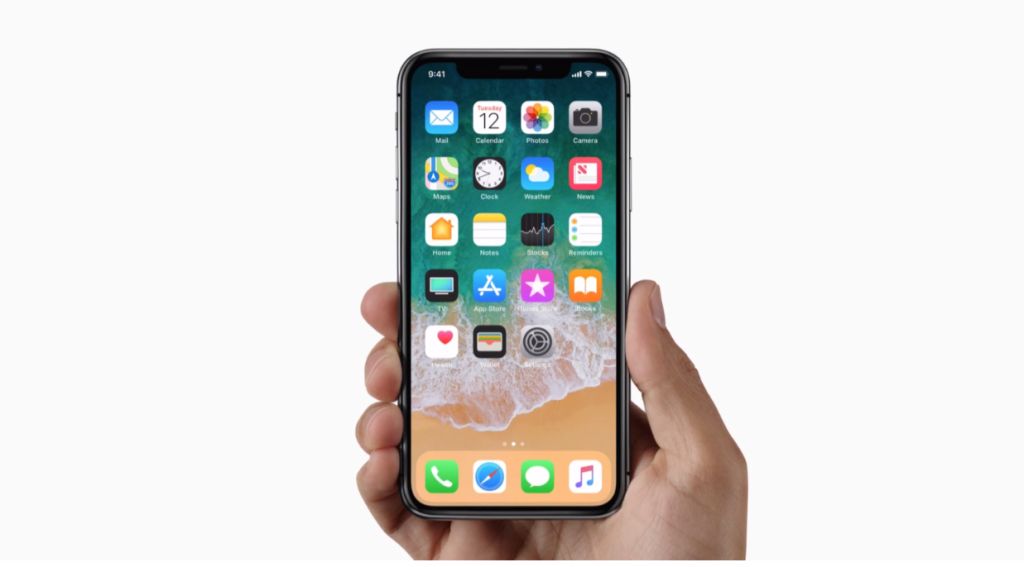 iphone x displ