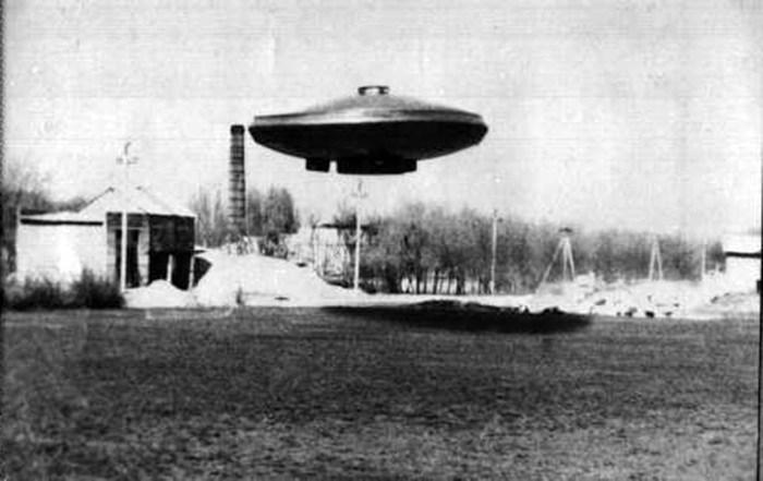 Испытание диска на секретном аэродроме в Пенюмюнде