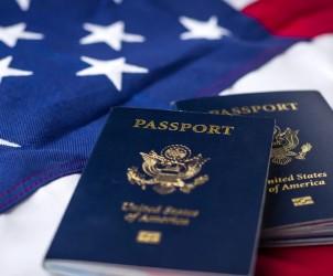Паспорт гражданина США фото