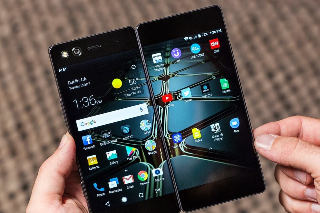 ZTE Axon M: раскладной смартфон с двумя экранами