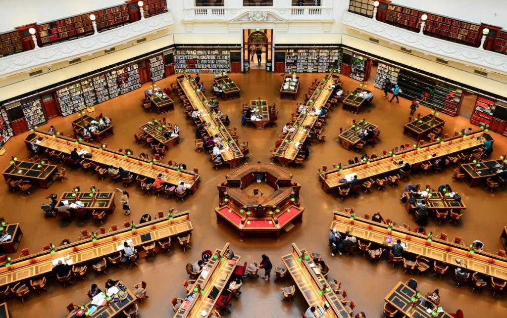 Библиотека в Мельбурне