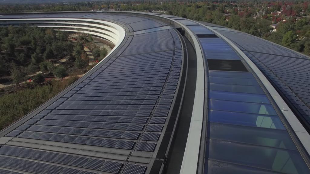 Крыша - сплошная солнечная панель