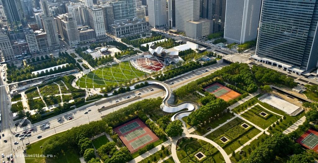 Милениум парк Чикаго