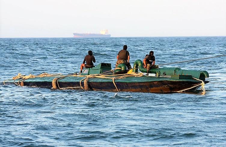 Подводная мини лодка для транспортировки наркотиков