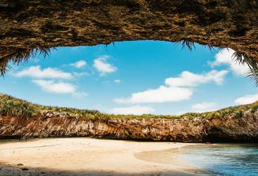 Скрытый пляж