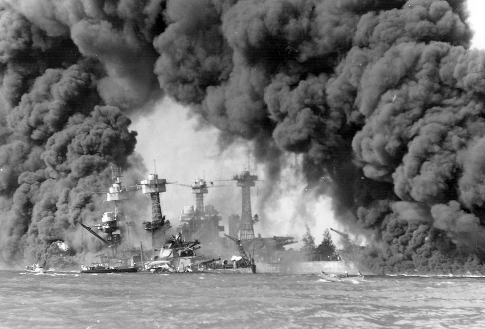 a look at the events following the japans attack on pearl habor