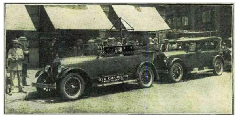 первая машина с автопилотом