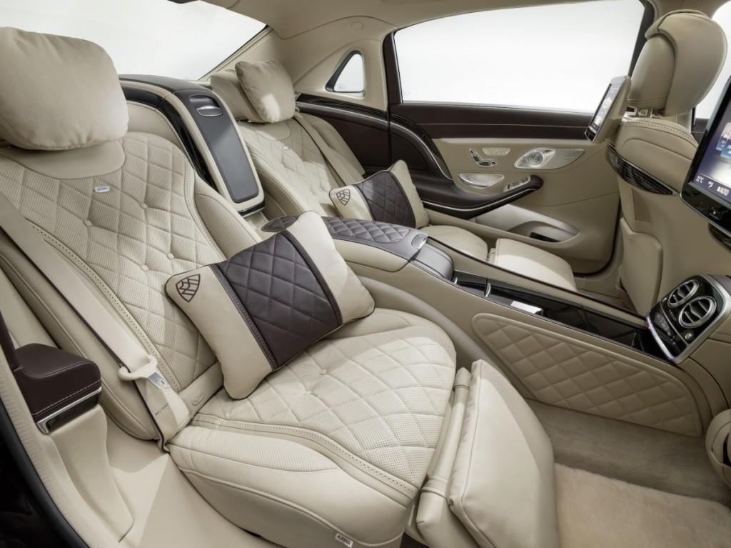 Mercedes Maybach S Class 2