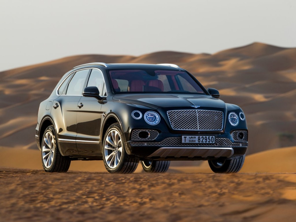 The Bentley Bentayga Falconry