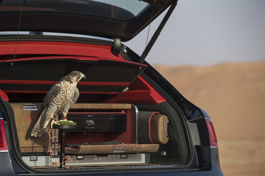 The Bentley Bentayga Falconry 4