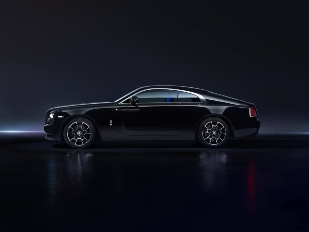 The Rolls Royce Wraith Black Badge