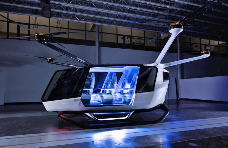 В США создали летающее такси на водороде