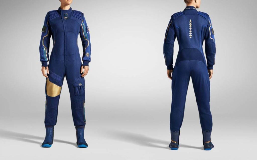 Дизайн одежды для космических туристов Virgin Galactic от Under Armour.