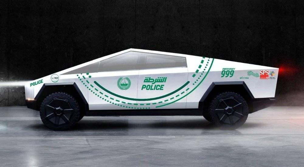 Tesla Cybertruck станет патрульным автомобилем в Дубае