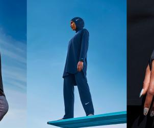 The Victory Swim Collection - первая в мире колекция буркини от Nike