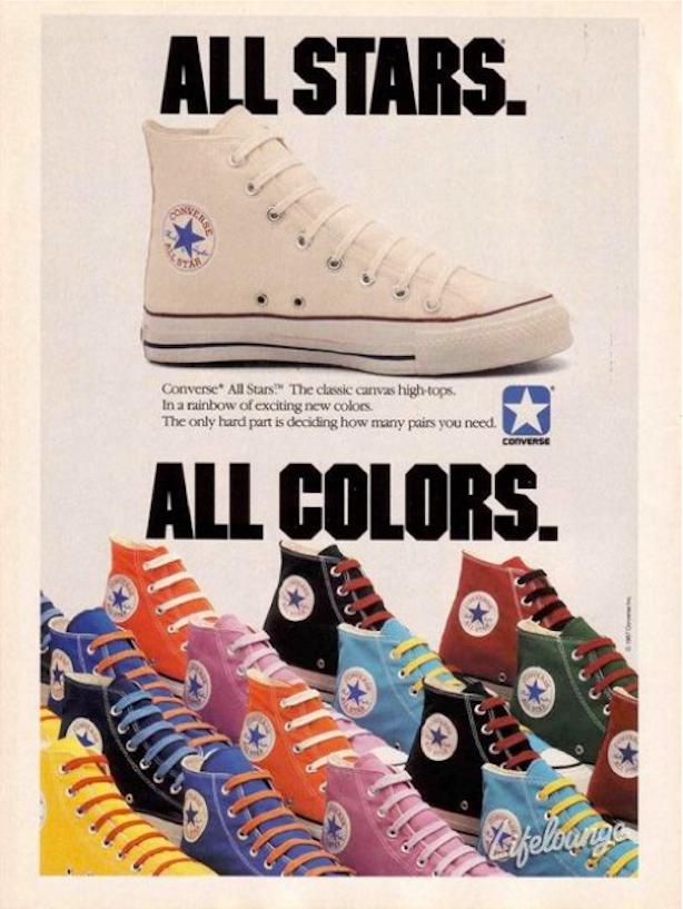 Американская легенда – кеды Converse
