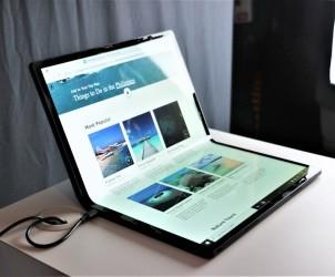 Первый в мире  OLED-складывающися ноутбук Horseshoe Bend