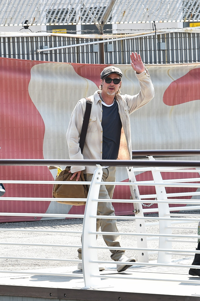 Airport Celebrity Sightings during The 76th Venice Film Festival