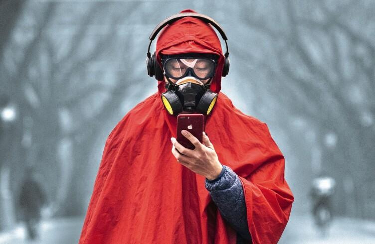 На экране смартфона коронавирусы могут жить четырех дней
