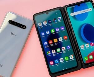 LG V60 ThinQ - 5G смартфон с двумя экранами
