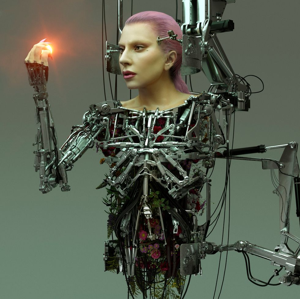 Леди Гага снялась в обнаженной фотосессии