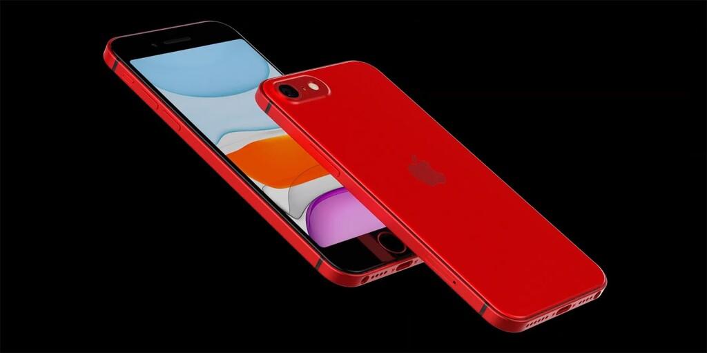 iPhone 9 или iPhone SE 2 (рендер)